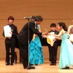 全日本学生音楽コンクール全国大会小学生の部優勝
